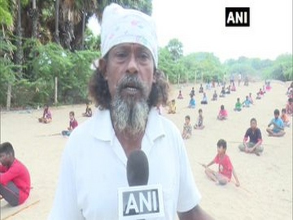 70-year-old Ganapathy Murugesan talking to ANI on how he teaches children ancient martial art called 'Silambam'.