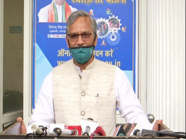Uttarakhand Chief Minister Trivendra Singh Rawat. (File photo/ANI)