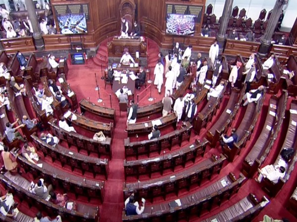 Visual of Rajya Sabha (Photo/ANI)