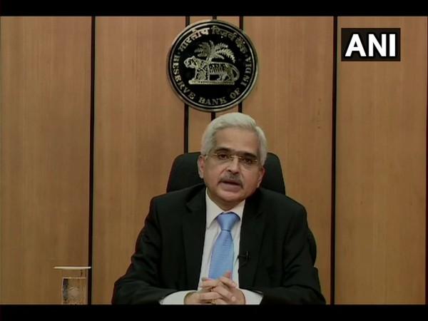 RBI Governor Shaktikanta Das addressing media on Friday.