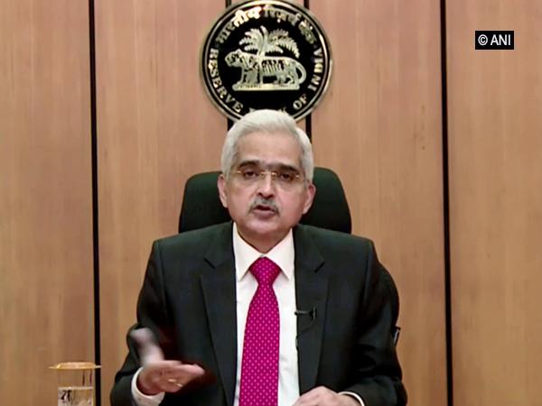 RBI Governor Shaktikanta Das [File Photo]