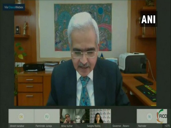 RBI Governor Shaktikanta Das addressing the FICCI meeting on Wednesday