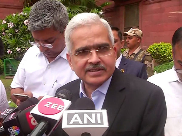 RBI Governor Shaktikanta Das in New Delhi on Tuesday (Photo: ANI)