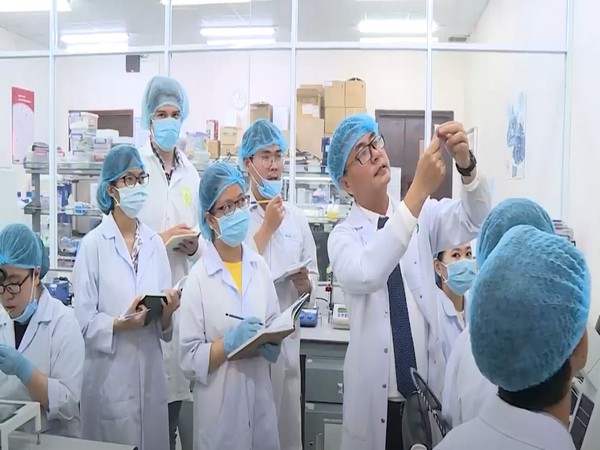 Students and scientists at the Viet Nam National University Ho Chi Minh City (VNUHCM) have carried out extensive research and developed products that help prevent the spread of COVID-19.