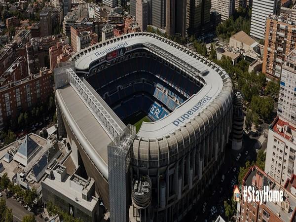 Real Madrid's stadium Santiago Bernabeu (Photo/Real Madrid Twitter)