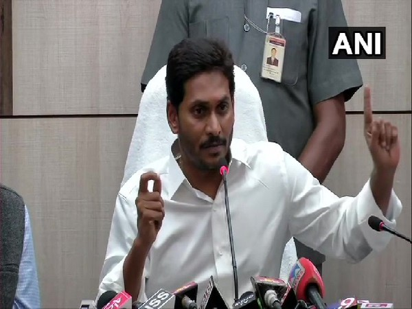 Andhra Pradesh Chief Minister Y S Jagan Mohan Reddy [File Photo/ANI]