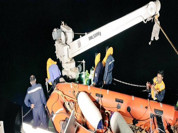 Visuals from rescue operation