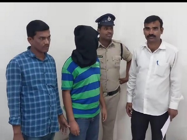 Shashikant was arrested on Wednesday for sending the bomb threat to RGI Airport. (Photo/ANI)