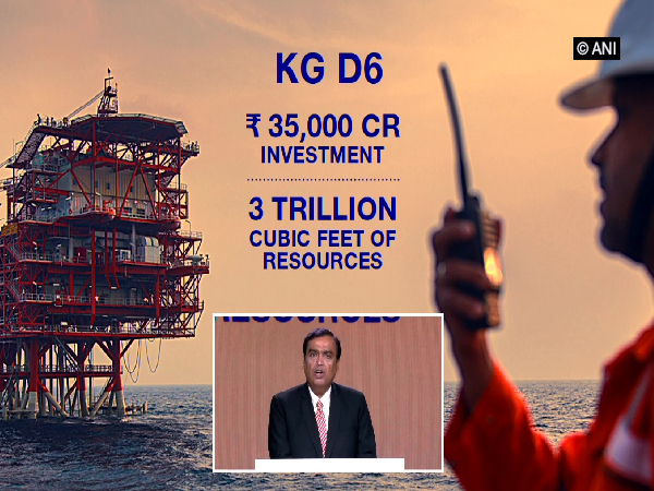 Ambani says the joint venture will emerge as a major contributor to India's energy security
