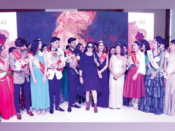 RJ Meenakshi at IIFD Annual Showcase Event