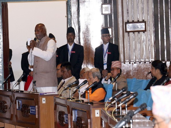 RJP-N leader Mahendra Raya Yadav speaking addressing the Nepali Parliament