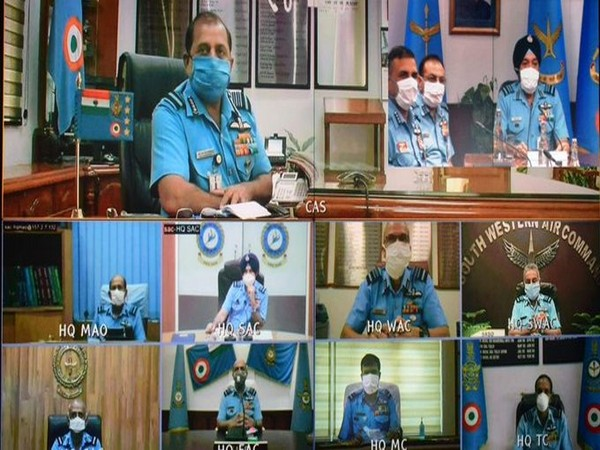 Chief of the Air Staff, Air Chief Marshal RKS Bhadauria inaugurates Senior Air Staff Officers' Conference