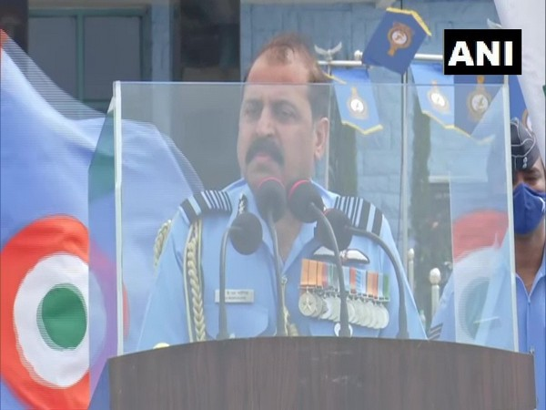 Indian Air Force Chief Air Marshal RKS Bhadauria. (Photo/ ANI)