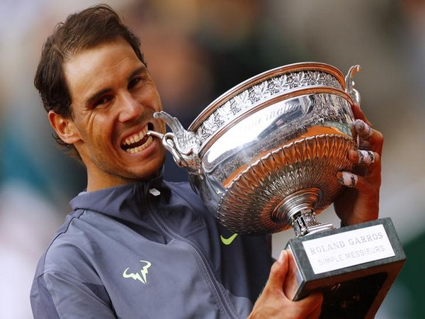 Rafael Nadal with 12th French Open title