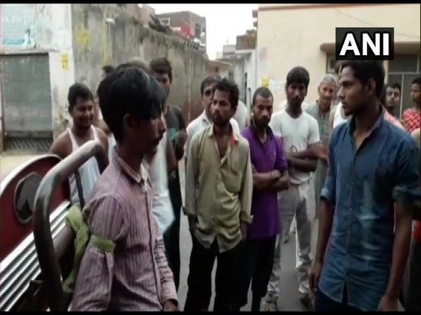 A man was tied to a truck and beaten up by locals in Uttar Pradesh's Shamli.