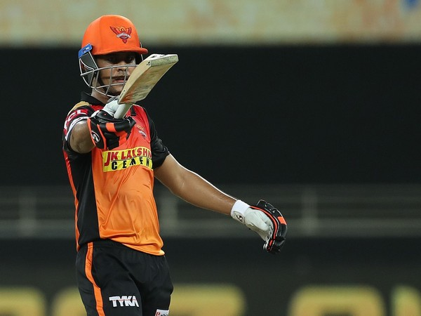 SRH's Priyam Garg (Photo/ iplt20.com)