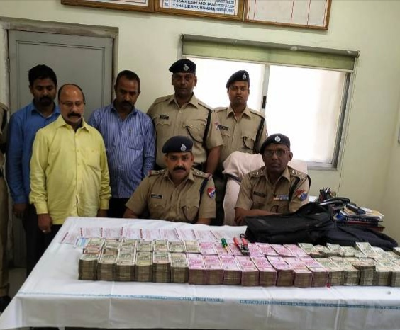 Railway Protection Force arrested three persons and recovered Rs 2.23 crore in Rourkela on Friday.