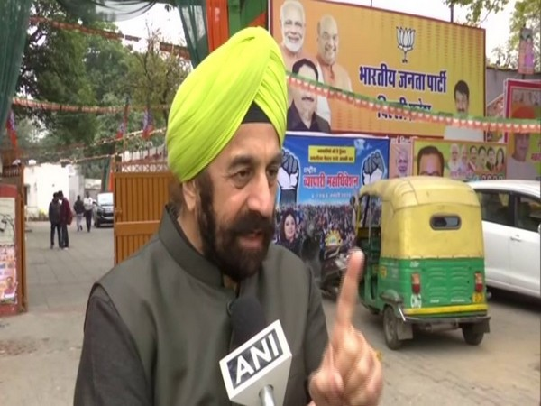 BJP leader RP Singh speaking to ANI in New Delhi on Sunday.