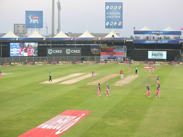 Players in action during Rajasthan Royals and Kings XI Punjab (Photo: BCCI/IPL)