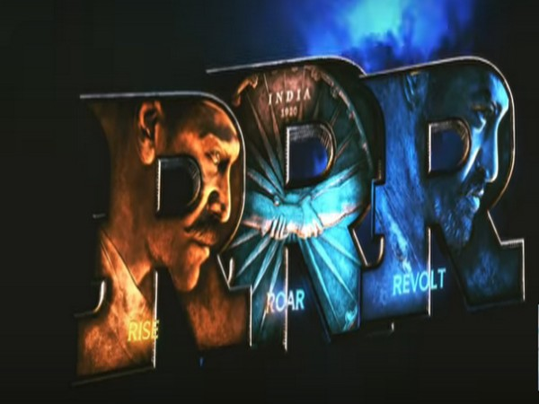 A still from the official motion poster of 'RRR' (Image courtesy: Twitter)