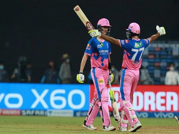 Rajasthan Royals' Jaydev Unadkat and Chris Morris (Photo/ iplt20.com)