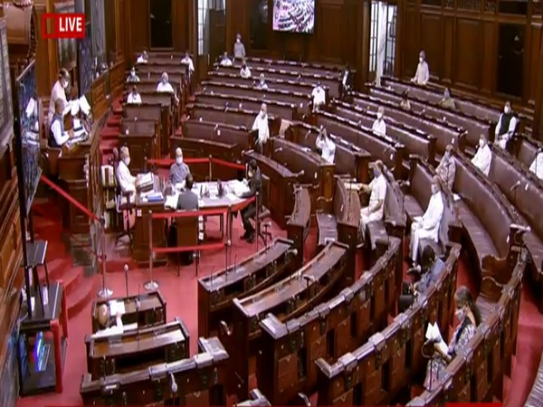 Visual from the Rajya Sabha