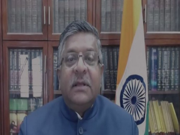 Union Minister Ravi Shankar Prasad addressing FICCI's 93rd annual general meeting through video conferencing on Monday.