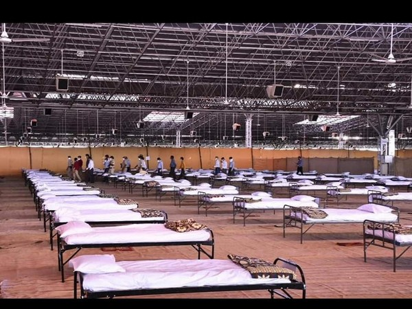 5,000-bedded quarantine facility setup at Radha Soami Satsang Beas complex, Nagpur
