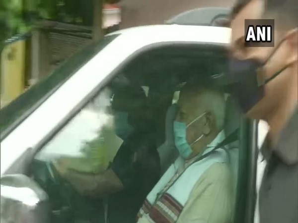 RSS Chief leaves for Ayodhya to attend foundation laying ceremony of Ram Temple tomorrow. [Photo/ANI]
