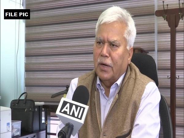 Chairman, CoWIN panel RS Sharma. (File Pic)