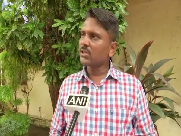 RTI activist Shakeel Ahmad Sheikh speaking to ANI in Mumbai on Monday (Photo/ANI)