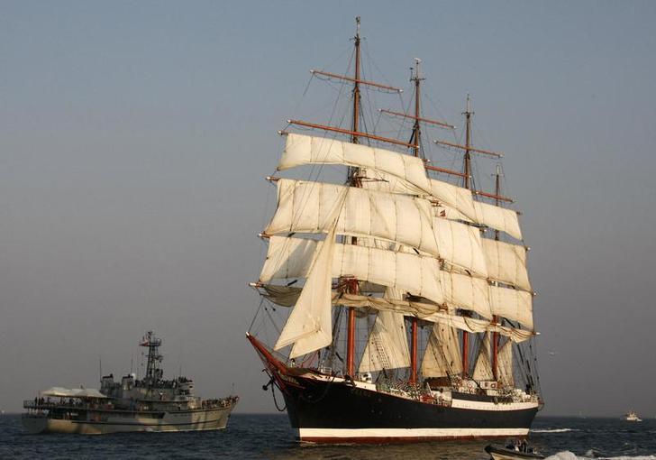 Russian tall ship Sedov