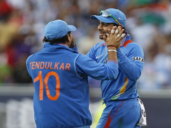 Sachin Tendulkar and Virat Kohli (file image)