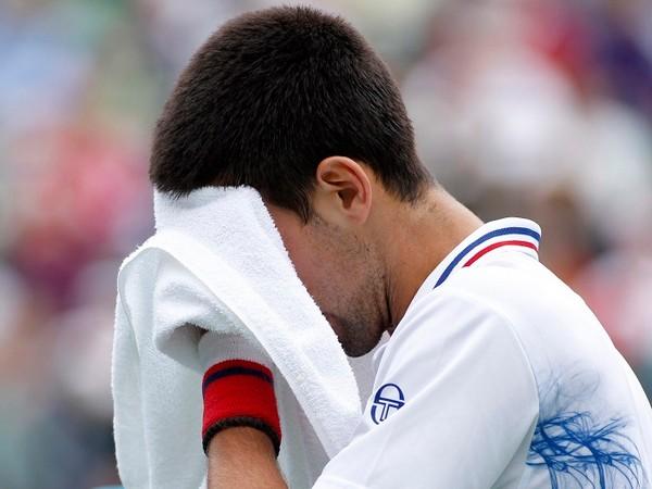 Serbian tennis star Novak Djokovic