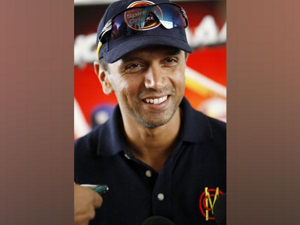 Former Indian cricketer Rahul Dravid