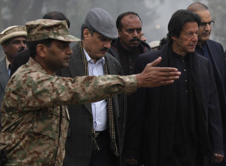 Pakistan Prime Minister Imram Khan (File photo)