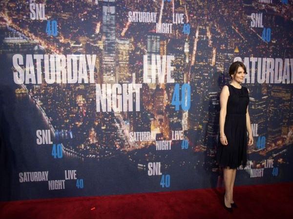 Tina Fey at the 40th Anniversary Saturday Night Live (SNL).