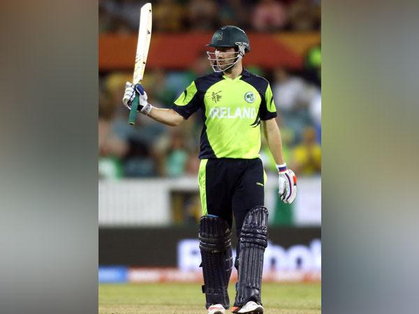 Ireland's top order batsman Andrew Balbirnie