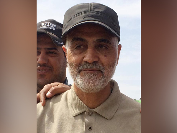 Iran's elite Quds Force chief General Qasem Soleimani