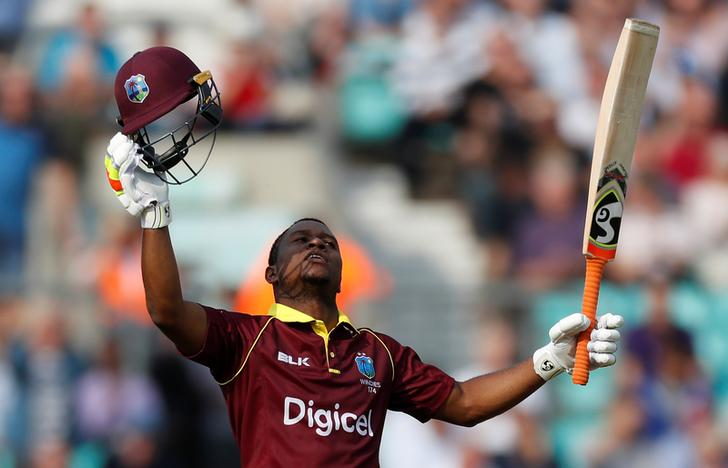 West Indies player Evin Lewis