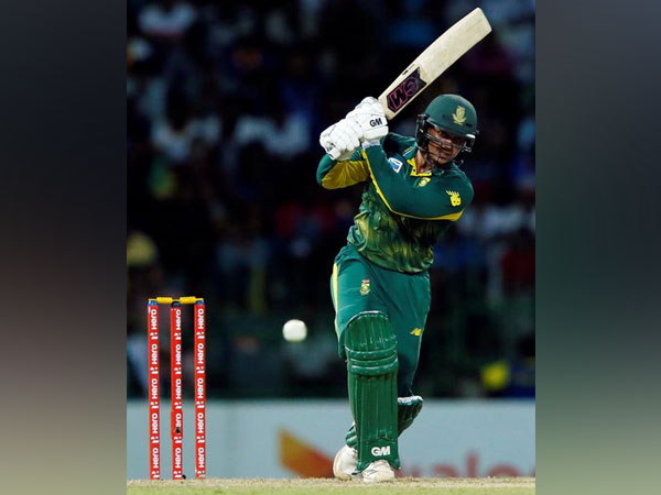 South Africa's wicket-keeper batsman Quinton de Kock