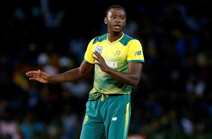 South Africa fast-bowler Kagiso Rabada
