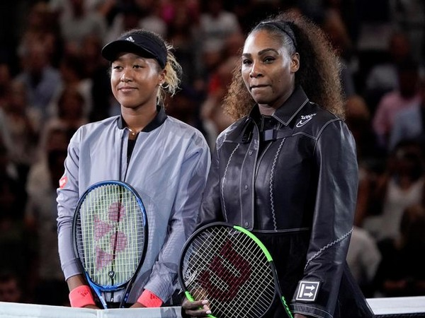 Naomi Osaka with Serena Williams during the 2018 US Open final