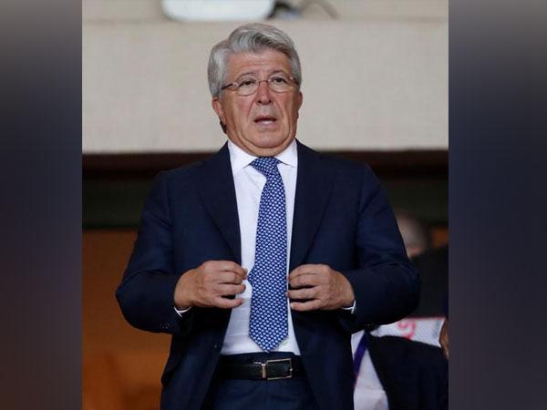 Atletico Madrid President Enrique Cerezo