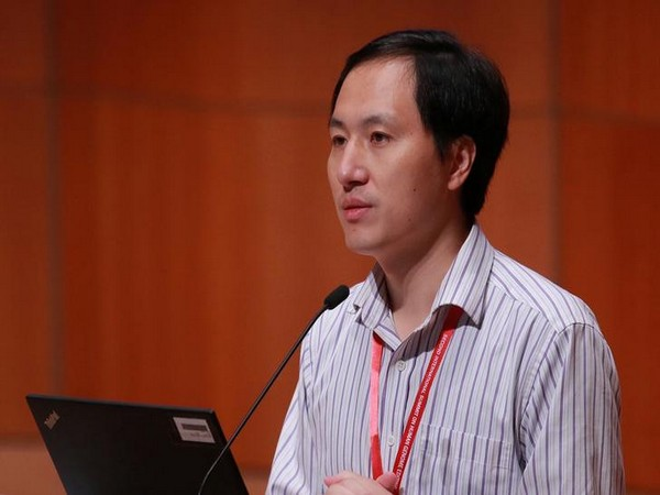 Scientist He Jiankui attending the International Summit on Human Genome Editing at the University of Hong Kong last year.