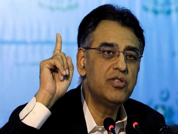 Pakistan Finance Minister Asad Umar