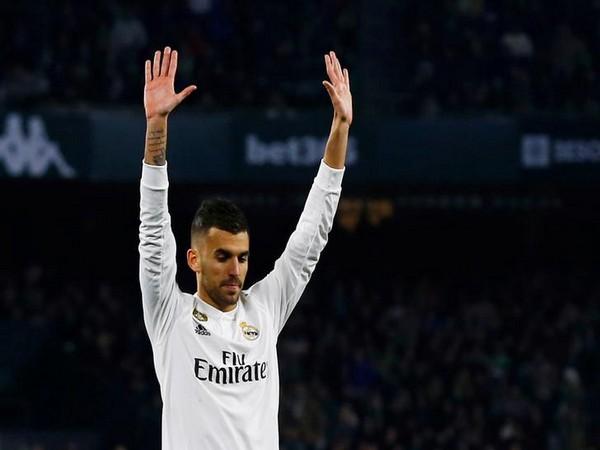 Real Madrid's Dani Ceballos