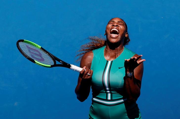 Number ten seed Serena Williams