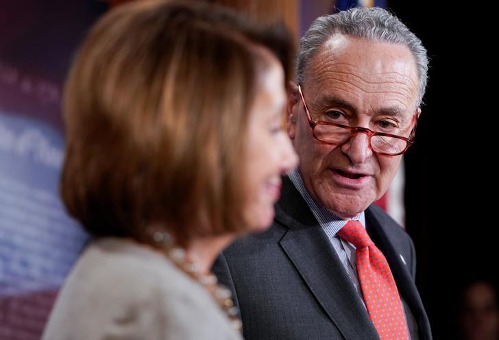 House Speaker Nancy Pelosi and Democratic Senate leader Chuck Schumer