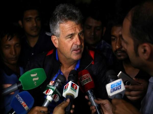 Bangladesh head coach Steve Rhodes